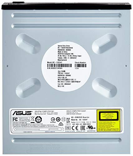 ASUS BC-12D2HT 12X - Combo de BLU-Ray (Bulk + S/W), compatibilidad con M-Disc, encriptación de Discos, E-Green, E-Media