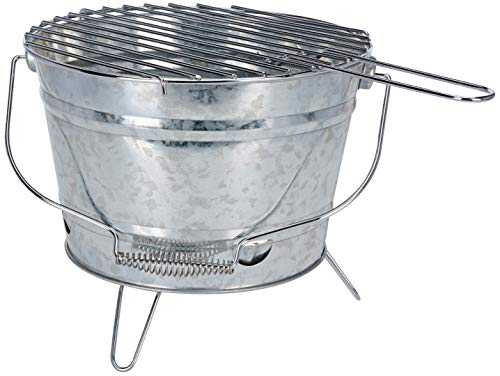 BBQ Barbacoa, Galvanizado, 27 cm
