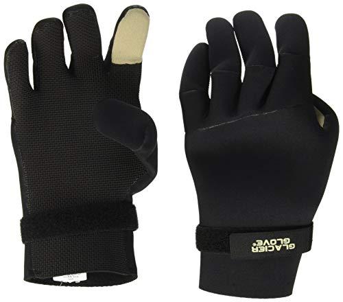 Glacier Glove Bristol Bay Neopren-Handschuhe, Schwarz/Grau, Größe XXL