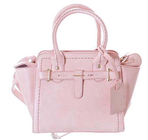 Kawaii-Story LB-149-2 Rosa Trend - Bolso de mano para mujer (piel sintética), color rosa