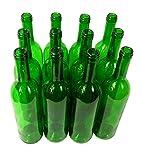 Destillatio 12 x Bouteille de Bordeaux- Vert (0,75L)