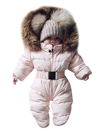 Bestgift Mono unisex con capucha para bebés y niños pequeños.