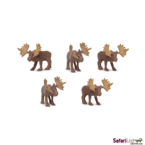 Safari Ltd. - Good Luck Minis - Glücksminis - Elche 5 Stück