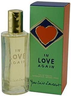 In Love Again By Yves Saint Laurent For Women. Eau De Toilette Spray 3.3 Ounces