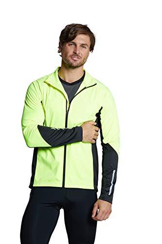 Mountain Warehouse Camiseta de Ciclismo - Secado rápido, Ligera, Transpirable y de fácil Cuidado - Ideal para Running y Uso Activo Amarillo 3XL