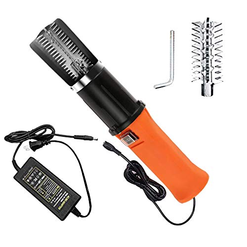 Speder Fish Scaler Corded Electric Fish Scale Remover Scraper Cleaner Kit with Waterproof Powerful Motor and AC Power Adapter for Fish Scaling