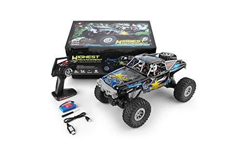 Areyourshop Remote car-RC Car Gift-WLtoys 104310 2.4GHz 1/10 4WD Double Bridge Crawler Electric Racing RC Car