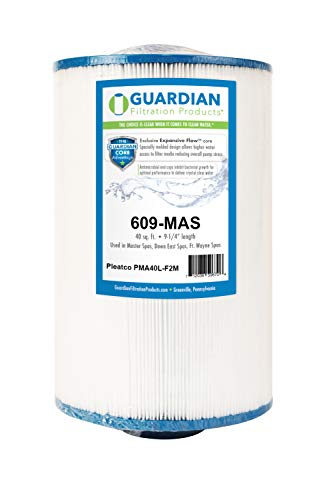 Guardian Spa Filter Replaces Pleatco PMA40L-F2M Master spas Twilight 40 Sq
