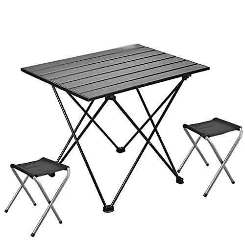 Mesa De Camping De Picnic Portátil Plegable Al Aire Libre Mesa Plegable Mesa De Camping Portátil Tablero De Mesa Plegable De Aluminio Compacto Ultraligero (Size : 56×41×46cm, Style : B)
