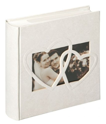 Walther Design ME-123 Memo-Einsteckalbum Hochzeit Sweet Heart, 200 Fotos 10 x 15 cm