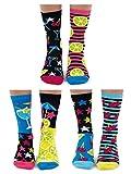 Mojitoes - United Oddsocks - 6er-Packung Oddsocks für Damen, mehrfarbig, EU-Größe 37-42