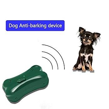 LXJ-KLD Répulsif Chats Exterieur,Extérieur respectueux de l'environnement Suspendus ultrasonique Anti Chien Barking Dispositif pour Jardin Parc Yard