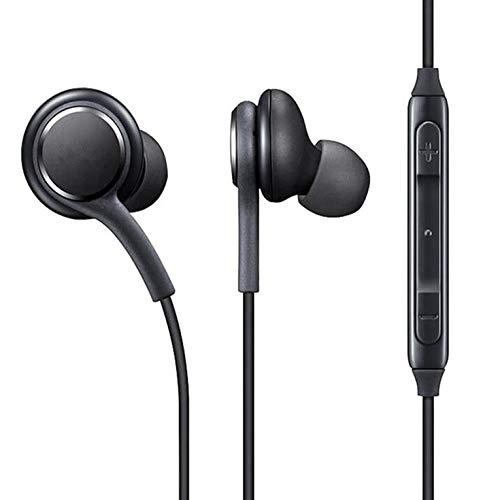 #N/V Auriculares intraurales estéreo con micrófono con cable para Samsung Galaxy S8 S8Plus