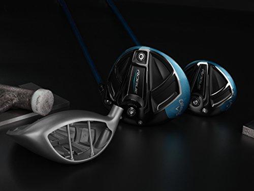 Callaway Golf 2018 Men's Rogue Driver, Left Hand, Synergy, 50G Shaft, Stiff Flex, 9 degrees