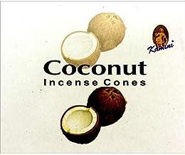 Kamini Incense Cones - Coconut - 120 Cone Bulk Box -