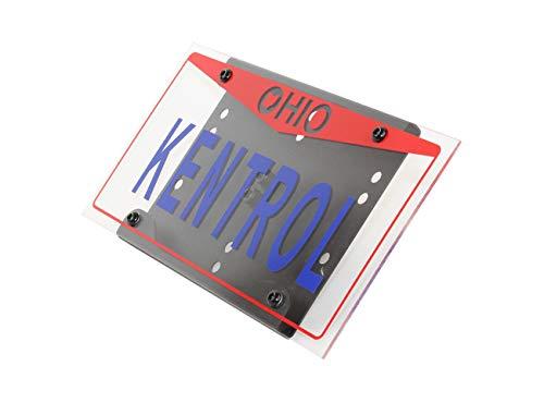 Kentrol Shackle Mounted License Plate Bracket 80706