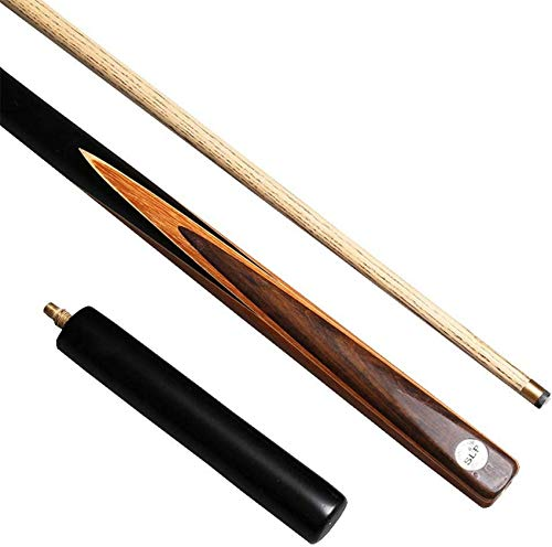 WEHOLY 57inch Pool Cues, 10MM Tip Snooker Cue Ash Shaft 3/4 Joint Handmade Billiard Stick with Extension Pool Cue