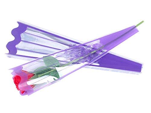 100 pcs unique rose sacs d'emballage bouquet de fleurs sacs d'emballage #38