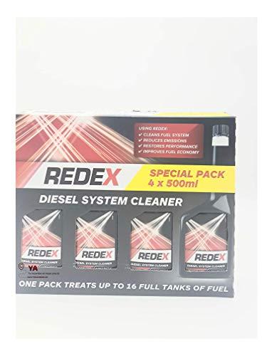 Redex - Aditivo Limpiador Inyectores Diesel - Pack 4