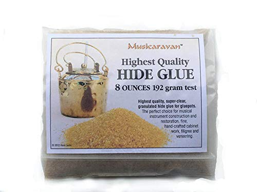 1/2 Pound Hot Hide Glue for Instrument Making and Fine Cabinet Work