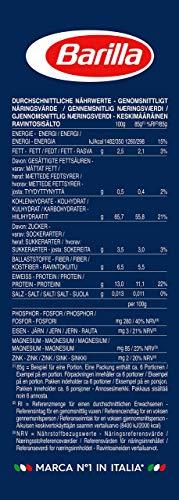 Barilla Vollkorn Pasta Penne Rigate Integrale – 6er Pack (6 x 500g) - 5