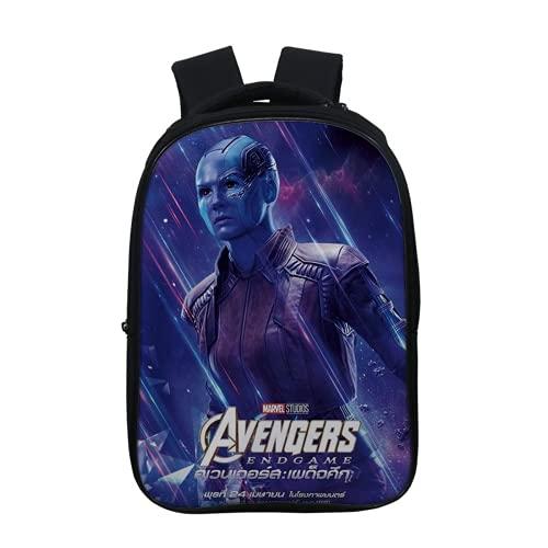 YXHM Avengers, zaino per bambini e ragazzi Spiderman, zaino per la scuola Avengers Marvel, A33, 30*16*37cm,