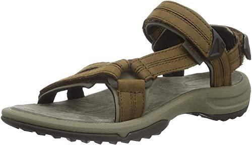 Teva Terra Fi Lite Leather W\'s Damen Sport- & Outdoor Sandalen, Braun (brown 556), EU 38