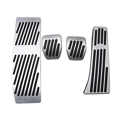 ZHHRHC Pedale del Pedale del Freno del Carburante del Gas Copre Gli Adesivi del Pedale Car Styling Accelerator, per BMW 1.3 Serie X1 E39 E46 E87 E90 E91 E92