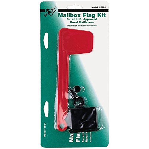 Fulton 20410213 Postmaster Replacement Flag Kit Fits All U.S.Rural Mailboxes