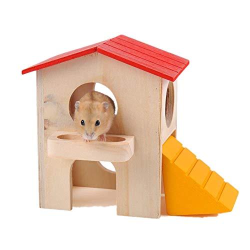 ZUOLUO Jaula Hamster Grande Jaula Hamster Ruso Hámster Enano Jaula Hámster Juguetes...