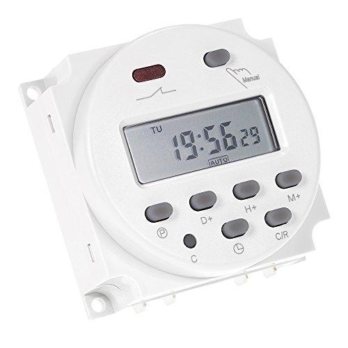 Anself Interruttore Digital Power LCD Timer programmabile AC 220V-240V 16A