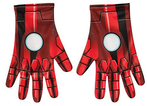 Rubie's – Gants Officielle de Marvel Iron Man pour Adulte – Taille Unique