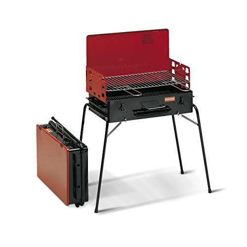 Ferraboli Tornado Barbecue A CARBONELLA, Nero E Rosso
