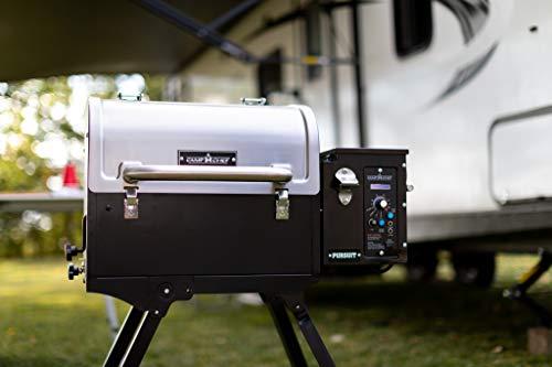 Camp Chef Pursuit Portable Pellet Grill PPG20,Black,Silver