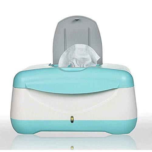 Adesign Calentador de toallitas más toallitas de bebé Calentador del termostato del niño de enfermería Caliente toallitas Baja energía Consumo de calefacción Caja de Aislamiento Hidratante Suministro