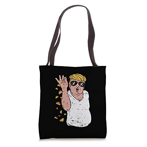 Funny Cinco De Mayo Trump Salt Meme Taco Food Lover Mexican Tote Bag