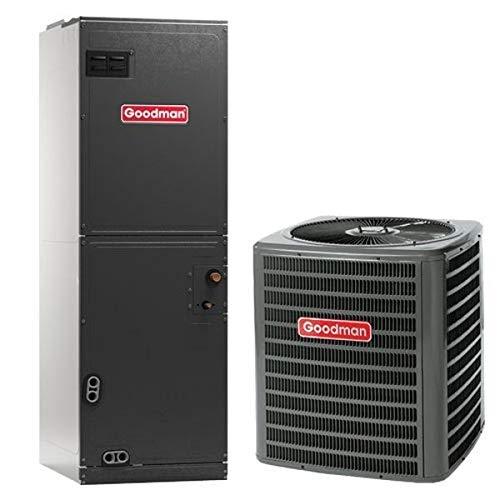 4 Ton Goodman 16 SEER R410A Air Conditioner Split System (Heat Kit Size:- 5 Kilowatt)
