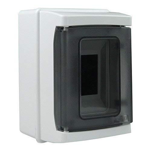Verteilerkasten Feuchtraumverteiler Kleinverteiler IP65 2 Module Sicherungskasten Aufputz 940.02 M-L 4816