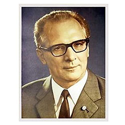 Ostprodukte-Versand.de Erich Honecker - großes Bild - DDR Traditionsprodukte - DDR Geschenk