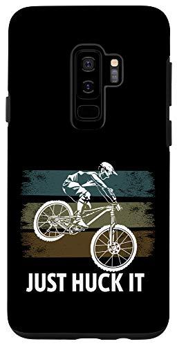 Galaxy S9+ Just Huck It Funny Mountain Bike Case