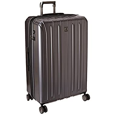 Delsey Luggage Helium Titanium 29 Inch EXP Spinner Trolley Metallic, Graphite, One Size
