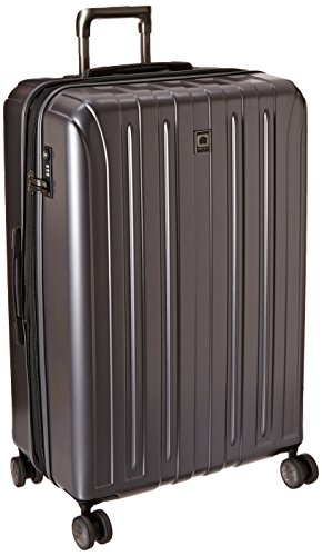 DELSEY Paris Titanium Hardside Expandable Luggage with Spinner Wheels, Graphite, Checked-Large 29 Inch