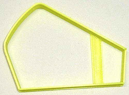 SLICE OF CHEESE PIE FOOD WEDGE TREAT DESSERT SNACK SPECIAL OCCASION COOKIE CUTTER BAKING TOOL MADE IN USA PR2949