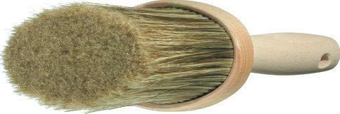 Wistoba 3108 Lasurbürste Flächenstreicher oval, natur