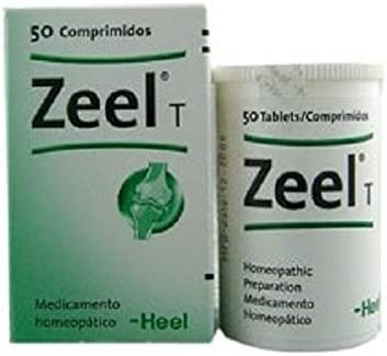 Heel Homeopathic ZEEL Direct stock discount Arthritis Fixed price for sale Pain 100 Tablets Relief