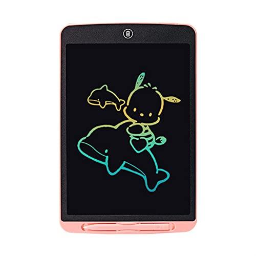 JSJJAOL Tablero de Dibujo 12 Pulgadas de Escritura Digital Tableta Pantalla LCD Pantalla electrónica Pad de Escritura a Mano Tableta Niños Escribir Tabla de gráficos (Color : 12 Inch Color Pink)