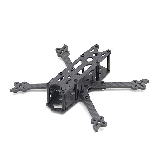 Scarab 3inch 130mm with 3mm Arm Carbon Fiber X Type Frame Quadcopter for Mini FPV Racing Drone
