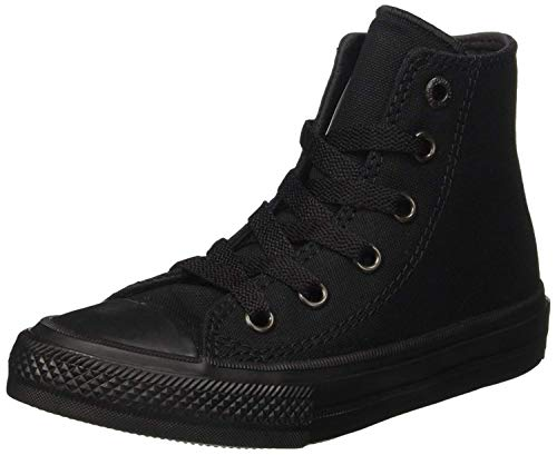 Converse Mens Chuck Taylor All Star Sneaker Hi Top Black/Black 9.5