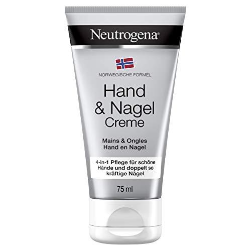 Neutrogena Norwegische Formel Hand & Nagel Creme, pflegende und schnell einziehende Handcreme für intensive Feuchtigkeit (1 x 75 ml)