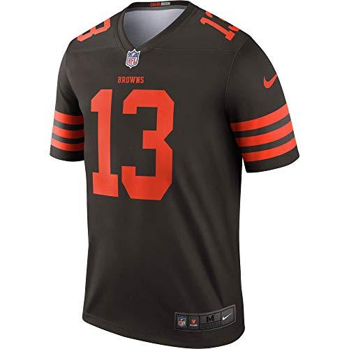 Nike Men's Cleveland Browns Color Rush Odell Beckham Jr Legend Jersey (X-Large)